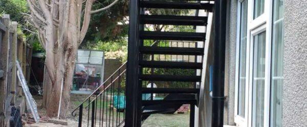 Domestic fire escape -3