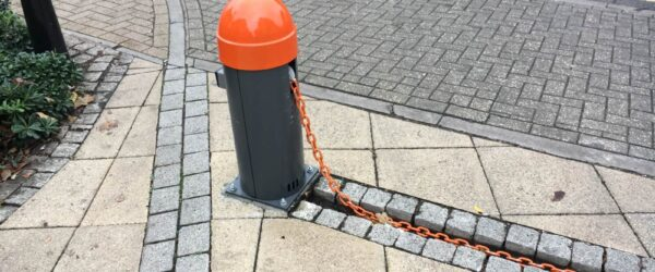 Electric chain barriers -2