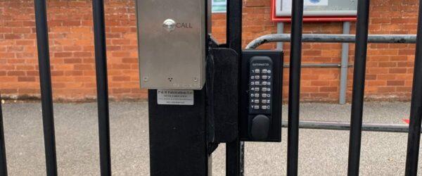 School gates railings & Automation-4