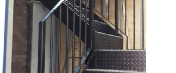 Stairs built & fitted for NHS-1